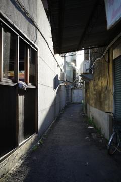台南 麻豆 路地裏