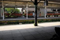 旧台中駅ホーム