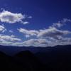 両神山から山と雲