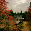 黄昏の神護寺