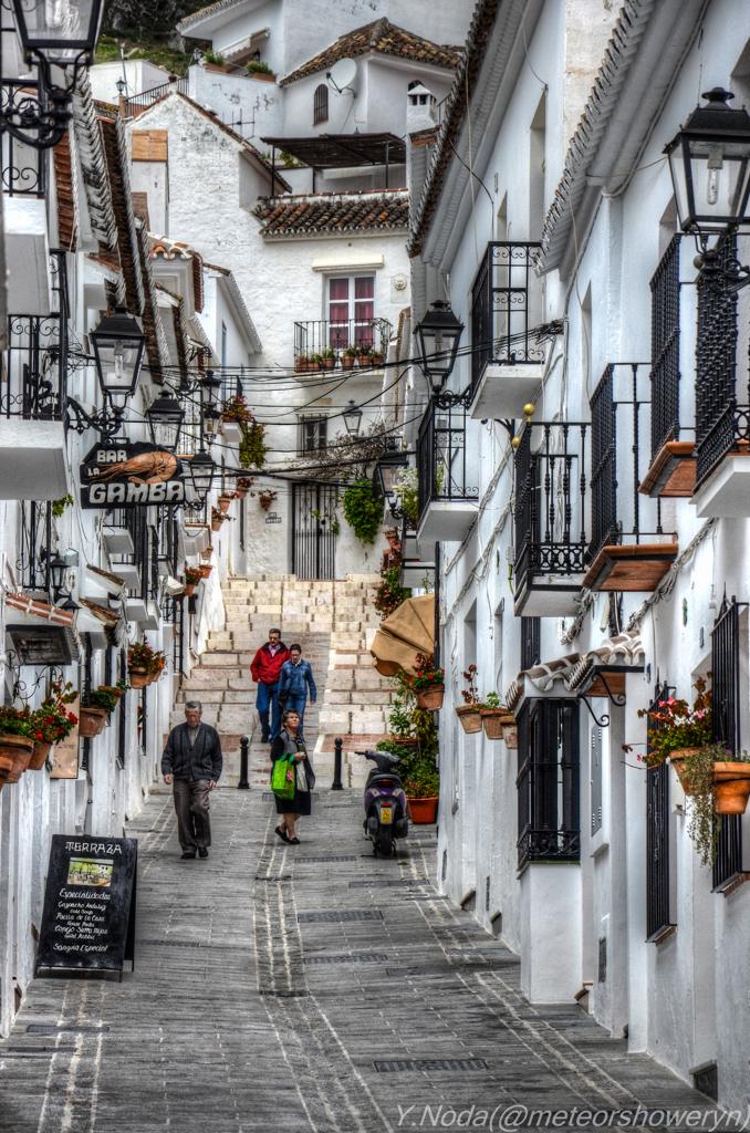 スペイン ミハスの白い村 by メテオール (ID:6535628) - 写真 ...