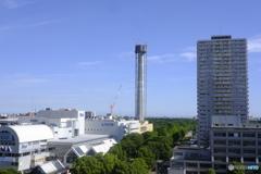 町のシンボル塔