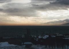 冬の日本海…