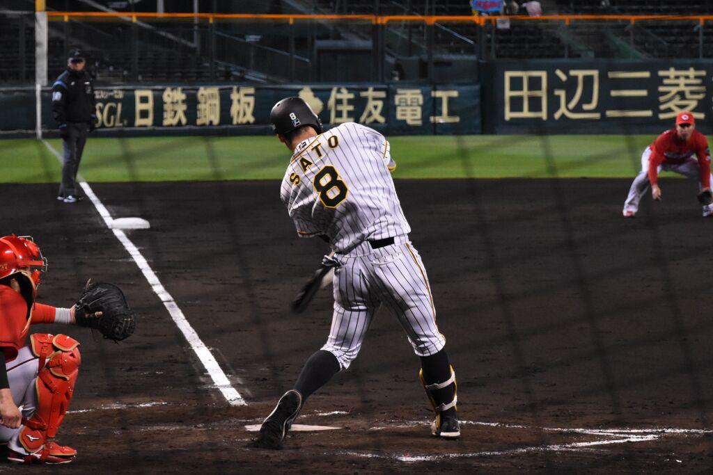 佐藤輝明 2021/04/15 TvsC