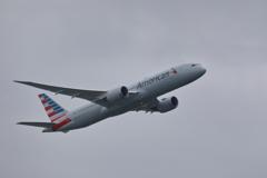 アメリカン航空787