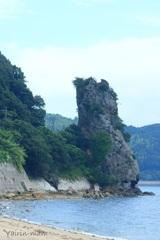 立岩(男岩)