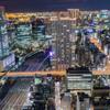 貿易センタービルからの夜景