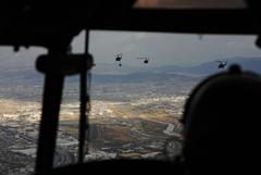 ヘリコプター 体験塔乗-4