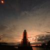 旧堺灯台ライトアップ