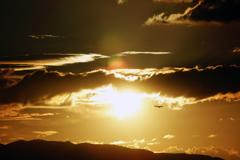 太陽を通過