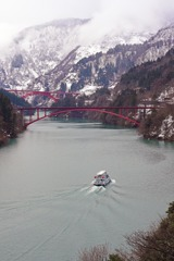 日本の風景 庄川峡