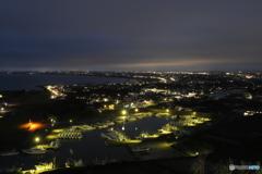 黄昏の港町
