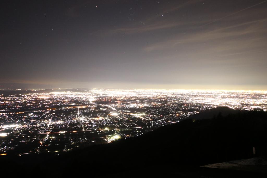 池田山からの夜景
