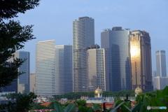 新加坡(シンガポール)の朝景