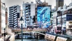 イルカの見える橋