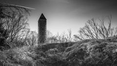 公園の展望塔