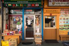 エスニックの食品、食べ物のお店