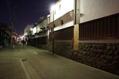 土蔵のある通り道