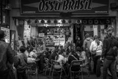 ブラジル人が集うお店