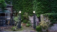 緑のある入口