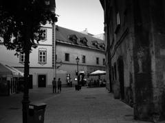 旧市街の路地 ブラチスラバ