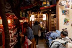 かなり狭い神社