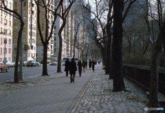 静かな五番街 NY