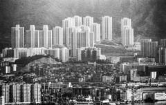 写っていた幻の九龍城砦 中央部下左寄り付近 (見にくくてすみません)香港