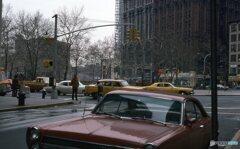 ある交差点 NY