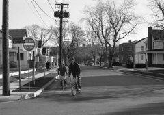 ある町の朝 ロングアイランド NY
