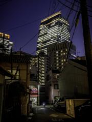 ある通りからの夜景