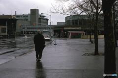 小雨の日 NY