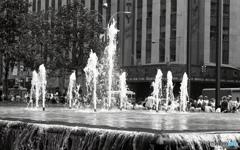 午後の噴水 NY