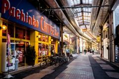 正月の円頓寺商店街