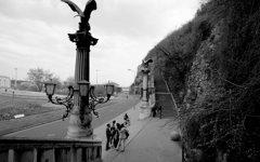 自由橋の袂 ブダペスト