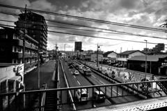電車から見た光景 2