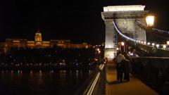 くさり橋の夜 ブダペスト