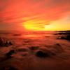 ハワイ島の夕景
