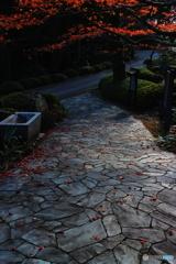 霊山院の秋 2