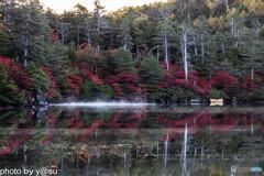 白駒池の紅葉Ⅲ