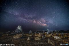 橋杭岩の星空