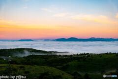 高ボッチからの雲海