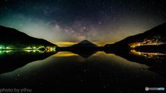 静寂の精進湖