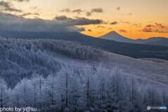 絶景の冬景色