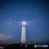 瓜木崎のペルセウス座流星群