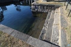 水上の玄関