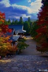 神護寺 境内 秋景