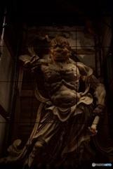 東大寺 南大門 金剛力士像・吽形像