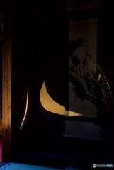 雲龍院 月窓の間