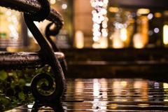 輝く雨と ヒカリの滴 ゜:。* ゜.